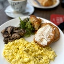 Breakfast set with mushrooms $17 / 4*