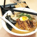 Ramen for a quick super late lunch..