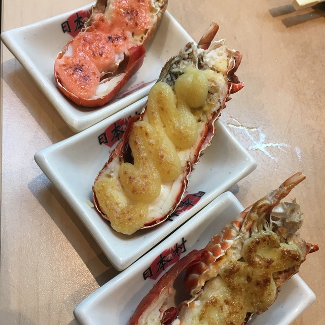 Half Slipper Lobster ($3.20++)