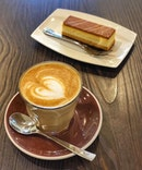 Raspberry latte x Sea salt caramel bar  Sweet and savory do go hand in hand at times.