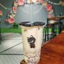 🥤New Bubble Tea Shop Alert🚨 * CHABANN KUROTAKI 黑泷太郎 * [SIGNATURE]👍🏼👍🏼 Brown Sugar Jelly Milk Tea ~ $3.7   Brown Sugar Jelly   Red Bean   Pudding   Nata De Coco   * 📍Address: 1 Raffles Link, #B1-49, Singapore (039393) 🍵🍵🍵🍵🍵 #chabann #kurotaki #黑泷太郎 #citylink #sglife #sgfoodblog #sginfluencer #sgfoodblogger #pursuitofportraits #theeverydayproject #Potdsg #pictureoftheday #sginfluencer #samsunggalaxys8 #8dayseat #cliffyncheeze #vscofood #sgfoodies #thisisinsiderfood #burpple #thisisinsider #visitsingapore #singaporeinsiders #igfoodies #tastemade #eatfamous #sgfood
