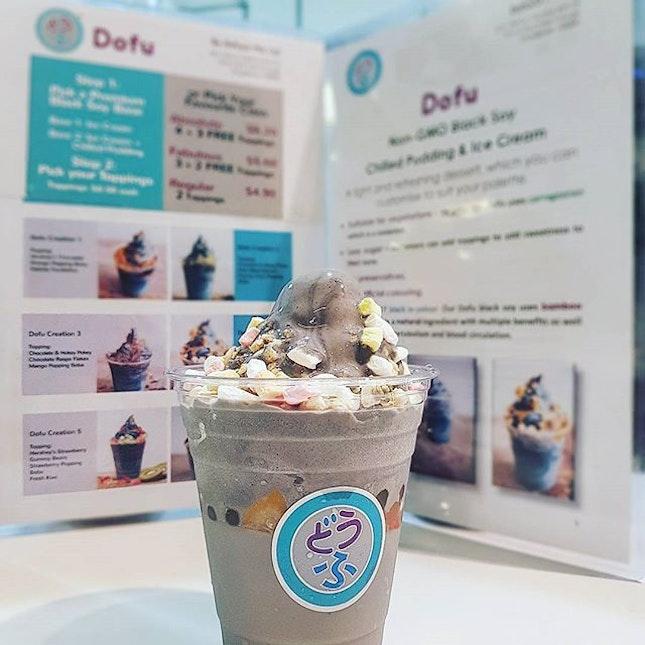 🍨🍧🍨🍧🍨🍧🍨🍧🍨 Eating Dofu 吃 Dofu ~ ❄❄❄❄❄❄ Soy Sesame Dofu Soft Serve 🔥🔥🔥🔥🔥🔥 To prevent Heatstroke 🌝🌞🌝🌞 ♯♯♯♯♯ #dofusg #dofu #soysoftserve #soy #love #icecream #mondayblues #starvingfoodseeker #burpple #hungrysquad #foodstarz #videomasak #phaat #foodbossindia #losangeleseats #eatingnyc #singaporeinsiders #exploreflavours #asiafoodporn #feedthepanda #dailyfoodfeed #dessertlover #thesmartlocalsg #thisisinsiderfood #jktfoodbang #dailyfoodfeed #sgig #instafood #sgdaily #onthetable #rerg