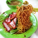 My love for this WANTON mee weighs more than WANTON! ⚖