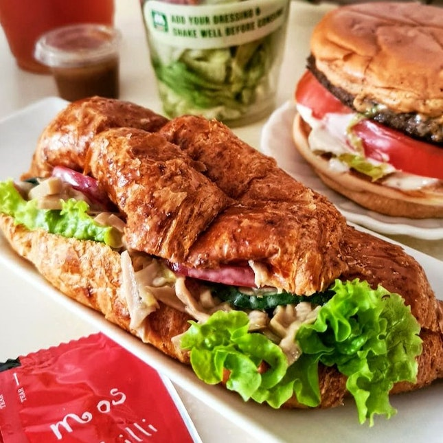King Oyster Mushroom Whole-Meal Croissant