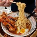 """Signature """"Chao Da"""" (Charred) Ebi Noodles"""