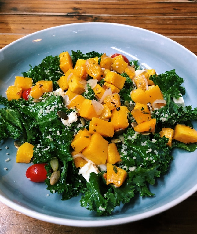 Roasted Pumpkin Salad ($14)