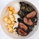 Truffle Mushroom Rice With Smoked Duck