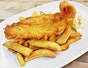 Mr. Fish & Chips at Café Wok Inn (PoMo)