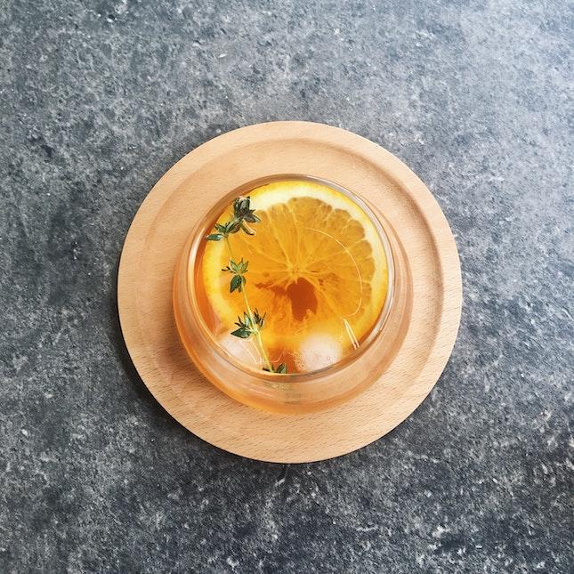 Assamica Tea Cold Brew (RM14)