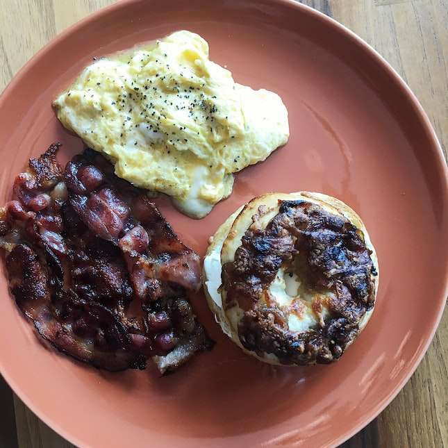 New York Special Bagel (RM25)