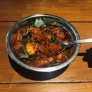 Ghee Roast Chicken Curry (RM16)