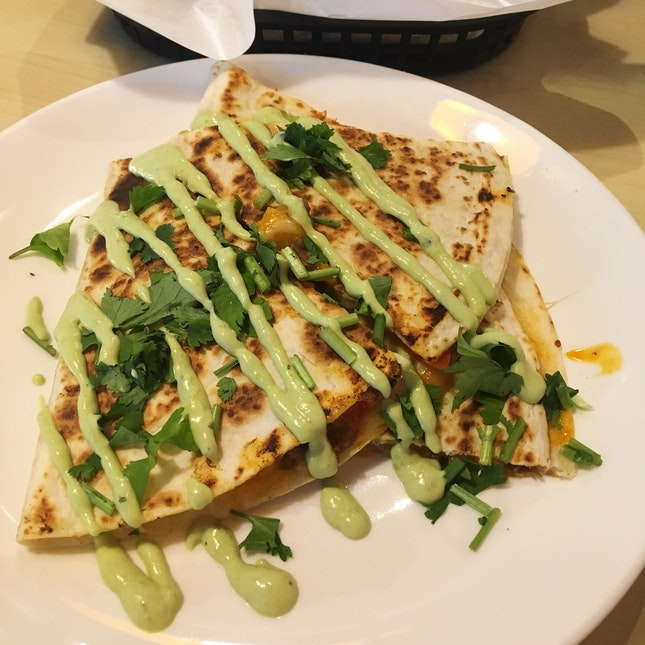 Pulled Lamb Barbacoa Quesadilla (RM16)