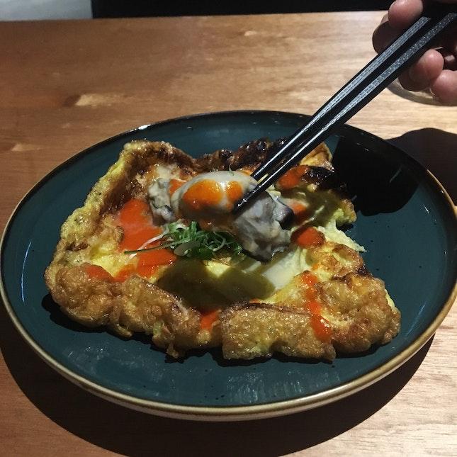 Japanese Oyster Omelette (RM29)