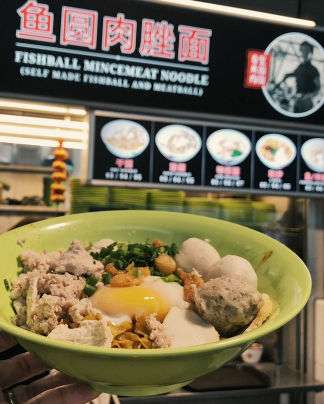 Matasoh fish ball Noodle