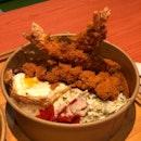 Chicken Katsu & Ebi Fry Set ($8.80)