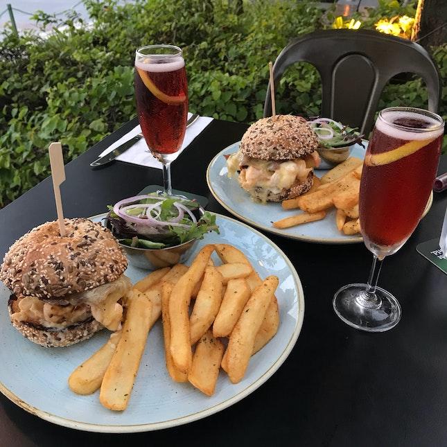 Pelican Lobster Burger ($58++)