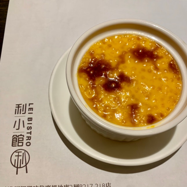 Chestnut Sago Pudding