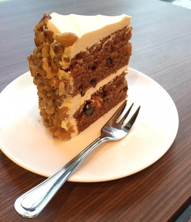 Cedele's signature Carrot 🥕 walnut cake