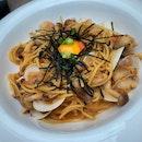Clam & Hotate Mentaiko Spaghetti