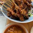 Charred Pork Satay!