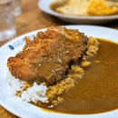 [Buona Vista] Pork Cutlet Omelette Curry ($16.90).