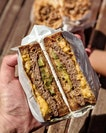 [Telok Ayer] Their Patty Melt ($17) burger-sandwich hybrid is a better burger than most burger places.