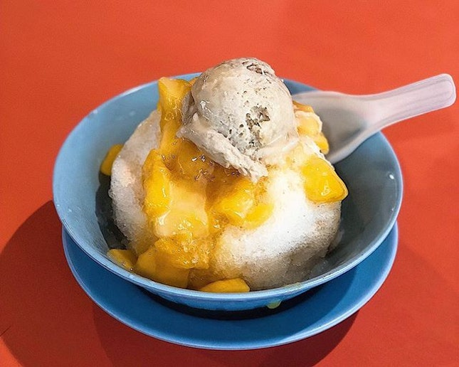 [Bukit Merah] Their Gangster Ice ($3) isn't just a brilliant pun (in Chinese), it's a great dessert too.