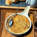[MBS] Their Macaroni cheese with garlic roasted crumbs ($16) lacked any prominent cheese flavour, which you know, defeated the entire purpose of the dish.