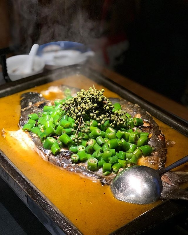 [Somerset] This is still my go-to combination: the Green peppers with Limbo fish ($45.90), whose softer, tender flesh I much prefer over the firmer, meatier texture of the Qing Jiang fish.