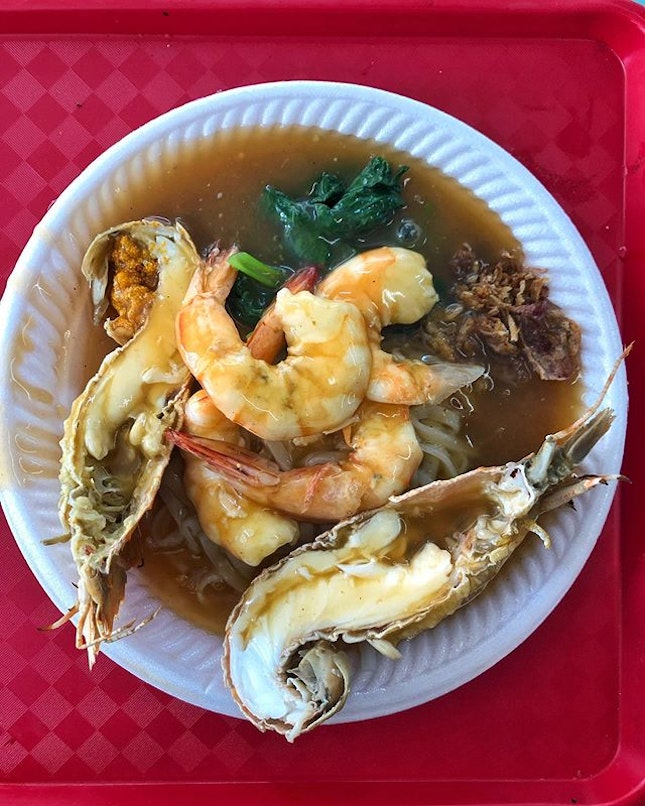 [Chinatown] I mean, does the crayfish add anything to the dish other than letting you tell your colleagues you spent $10 on lunch at the hawker centre?