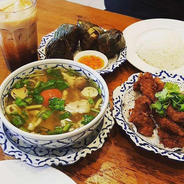 Thai food all day err day  #affordable #burpple #burpplesg #comfortfood #cravings #delicious #foodie #foodporn #hougang #hungry #hungrygowhere #igsg #instafood #instafoodie #kovan #nakhon #nomnomnom #pandan #pork #sgeats #sgfood #sgfoodies #sgig #singapore #thaifood #thaimilktea #tomyum #yum #yummy