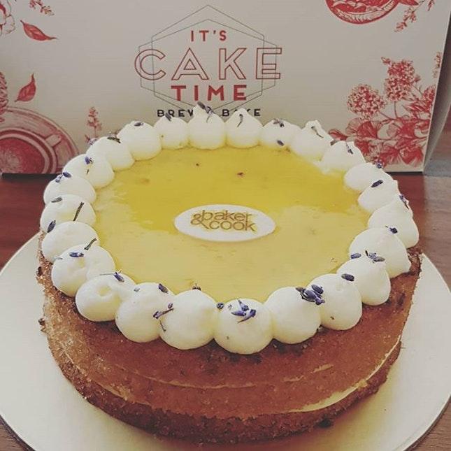 Gluten-free Orange Lavender Tea Cake.