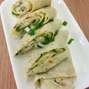 Spring Onion Egg Roll