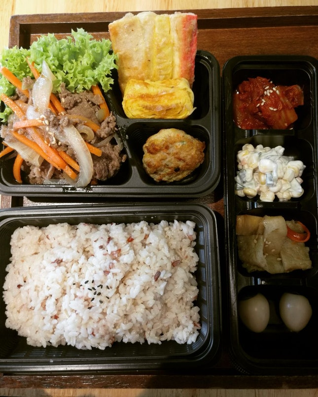 Beef Bulbogi Lunchbox