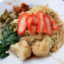 I don't eat much Wanton Mee but...