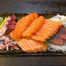 The Sashimi Platter From The Lunch Buffet!