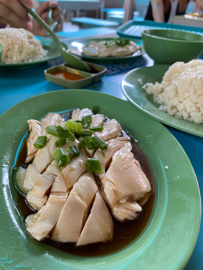 Chicken Rice ($3.50)