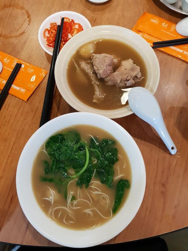 Mee Sua And Pork Ribs BKT