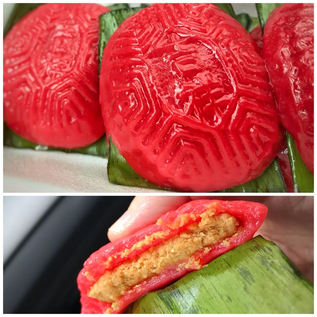 Review on Ji Xiang ang ku kueh ($0.90 except for yam & durian flavour)