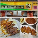 Review on Satay ($0.60 each) From Haron Satay, Stall #01-55