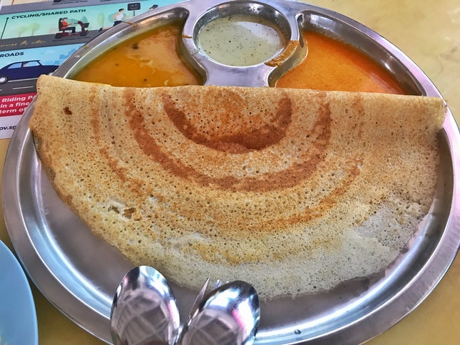 Review on Thosai ($1.50)
