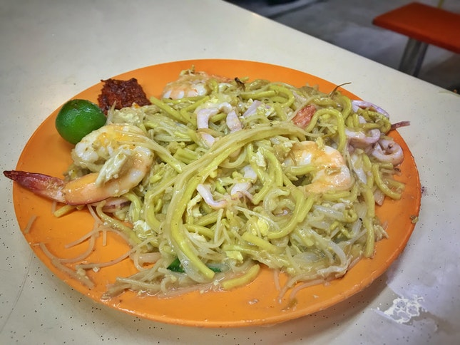 Review on charcoal fried Hokkien mee ($4/ 8/ 12)