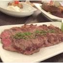 M.B Beef Steak, $21++