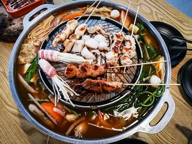 When you're craving for BBQ & Steamboat at the same time!