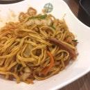 Spicy Prawn Sauce Char Siew Stew Noodle