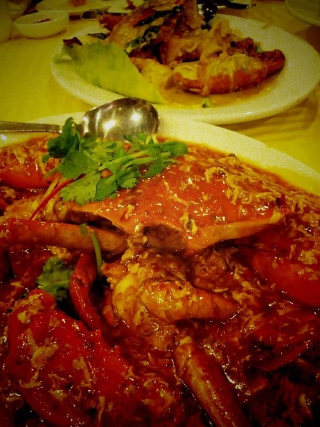 Chilli Crab & Salted Egg Crab