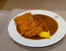Curry Sauce Omurice With Chicken Cutlet