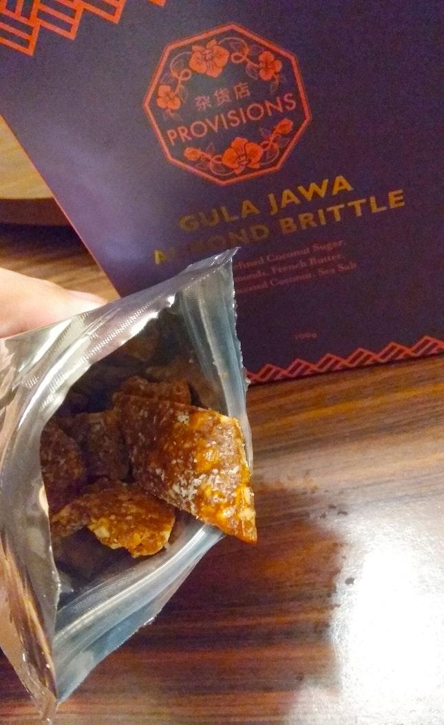 Gula Jawa Almond Brittle