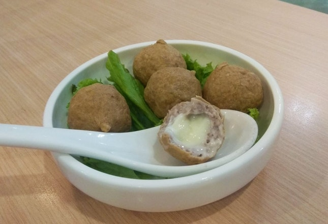 Cheese Meatballs