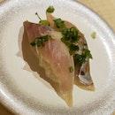 Horse Mackerel Sushi
